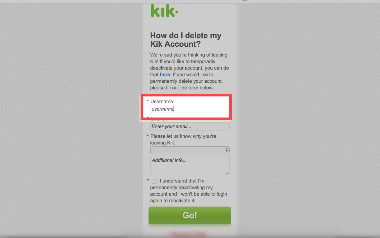 kik.com delete account